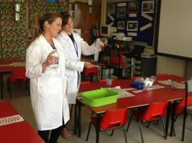 Science Lab visit Primary Two