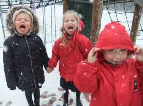 Winter Fun in Primary One!