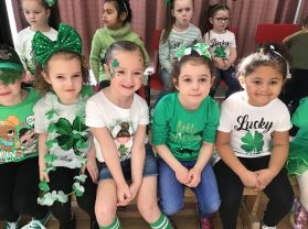 Primary One's Irish Dance