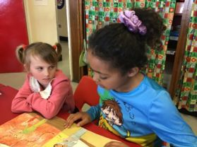 Big Girls Read to Little Girls